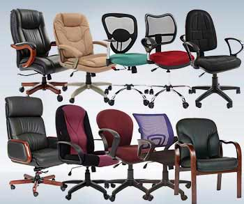 Каталог офисных кресел и стульев
