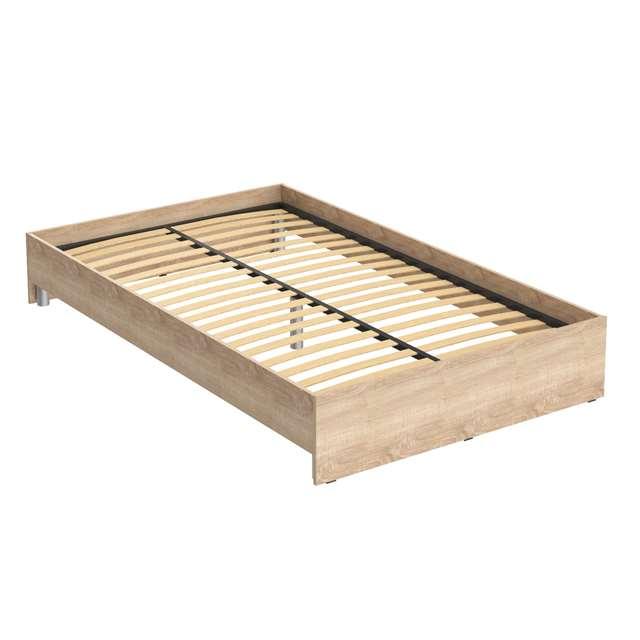 Кровать без изголовья KBW-2012 (2040*1240*300)